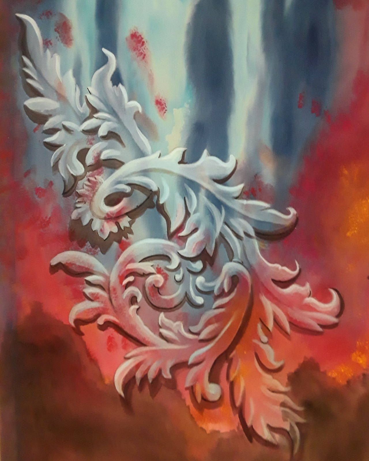 Trompe L'oiel Painting
